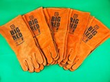 5 Pair BIG RED Large