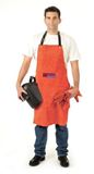 APRON BIG RED Leather 900mm  600mm