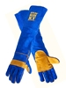 3 Pair XT Long KEVLAR BLUE