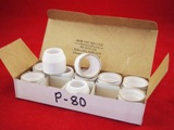P-80 PLASMA SHIELD CUPS Qty 10.