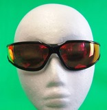 2Pr PYRAMEX Sky Red Mirror Lens with H2X Anti-Fog Technology