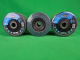 "30Pcs Flap Discs 5.0""-125mm x 22mm 40/60/80 Zirconia"