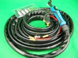 WP-18F 8.0m Water Cooled 350A 35/50 Dinse Flexi