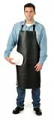 Grain Leather Bib Style Apron One Pcs Leather AA004SP