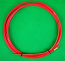 0.9-1.2mm x 3.0mtr RED Teflon BINZEL style