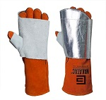 Glove saver RIGHT hand aluminised size large 1Pcs