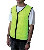 E-Cool Vest High Visibility Fluoro yellow