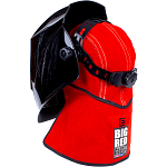 BIG RED® Leather Welding Cap with 228mm Nape