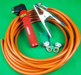 150A 10.0mtr Twist Lock Arc lead kit Re-usable Lugs