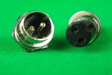 Plug 2 Pin Male & Female Plug & Socket.