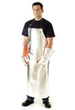 Apron Aluminised Kevlar Unlined  Large 1220mm X 910mm