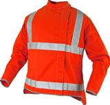 HI VIZ Orange Proban® High Visibility Welding Jacket Large