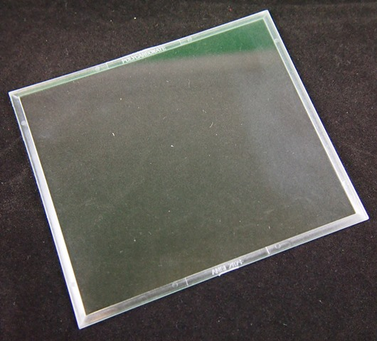 110mm x 98mm x 1.0mm CLEAR Polycarbonate 711098 1 Pcs.