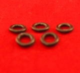 "O-Rings 5 Pcs MIG Gun Euro fitting ""Free Post"""