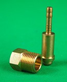 "MALE Thread 5/8"" 18UNF RH Gas Nut & Tail"