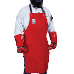 APRON BIG RED Leather 915 x 560 mm BRAA2LS  10 Piece
