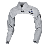 Blue Max Chrome Leather Welders Sleeves with Yoke